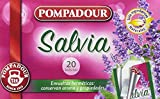 Pompadour Infusión Salvia - Pack de 5 x 20 Bolsitas