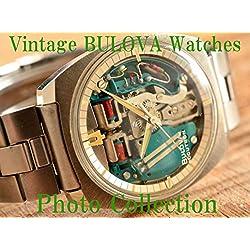 BULOVA Vintage Antique Watches Photo Collection