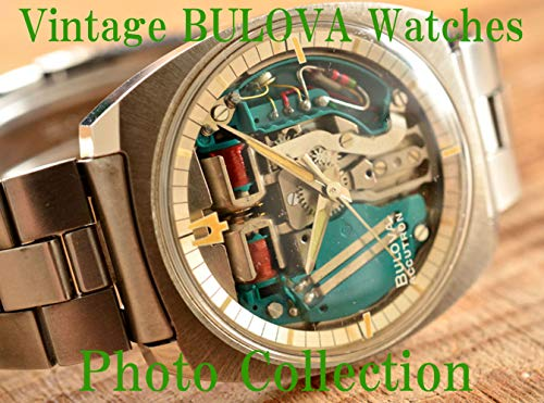 BULOVA Vintage Antique Watches Photo Collection (English Edition)