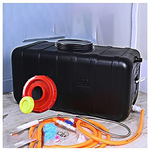 SSWZHANG - Secchio portatile per auto, campeggio, acqua, 80 l, per uso domestico, in plastica, per uso domestico, contenitore per acqua potabile (dimensioni: 120 l, colore: 1)