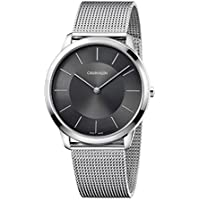 Calvin Klein Minimal Quartz Black Dial Men's Watch