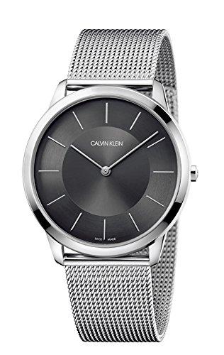 Calvin Klein Reloj Analógico para Hombre de Cuarzo con Correa en Acero Inoxidable K3M2T124