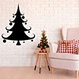 wZUN Etiqueta de la Pared del árbol de Navidad Etiqueta de la Navidad decoración del Arte de la Pared de la Sala de Estar Familiar 57X71cm