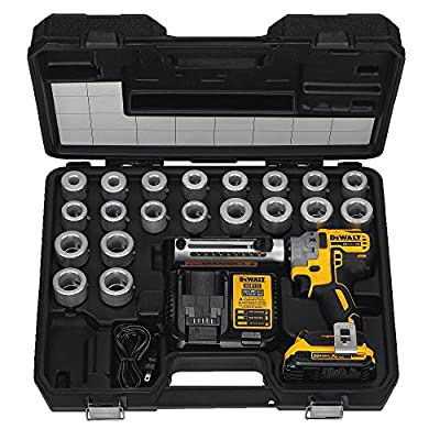 DEWALT 20V MAX XR Cable Stripper, Cordless Kit (DCE151TD1)