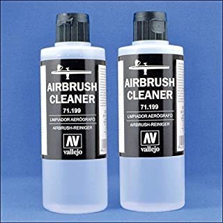 Airbrush Cleaner for Water-Base Paints, 400ml (13.5 Liquid Oz)