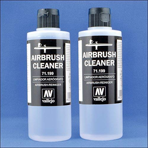 Airbrush Cleaner for Water-Base Paints, 400ml...