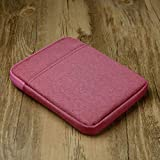 Faddare Kindle Protective Case, 6-inch Protective Case for Kindle Paperwhite3 V-oyage 558/958/KV E-Reader Pouch Case (Rose)