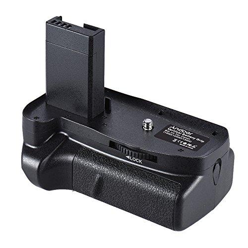 Andoer - Empuñadura (Grip) Vertical Doble para baterías LP-E10. Compatible con baterías para Canon EOS 1100D 1200D 1300D / Rebel T3 T5 T6 / Kiss X50 X70