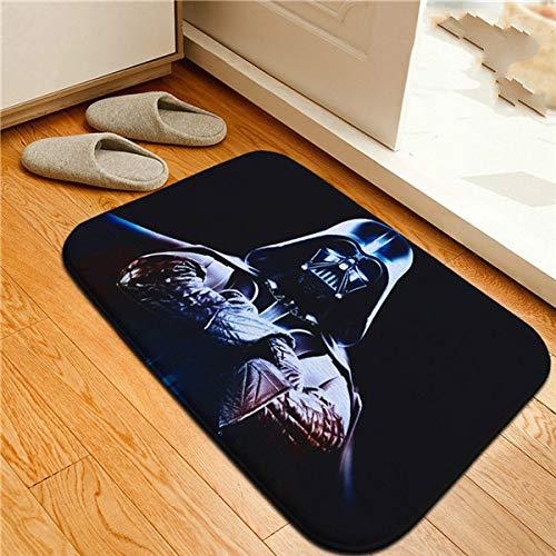Alfombrillas Antideslizantes Star Wars Alfombras Antideslizantes Darth Vader Stormtrooper Alfombras Puerta Principal Felpudo Alfombra de baño Alfombra de Cocina Regalo