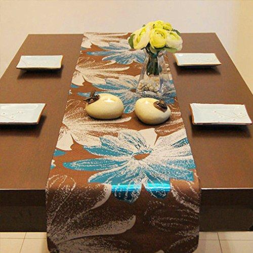 VLHVAQ DFRXK-HM Tafel Runner Eenvoudige Inkt Yinhua Tafelkleed Tafelkleed Rechthoek Koffietafel Decoratie Tafelkleed Van toepassing op Home Decoratie Party Bruiloft Banket Tafeldecoratie