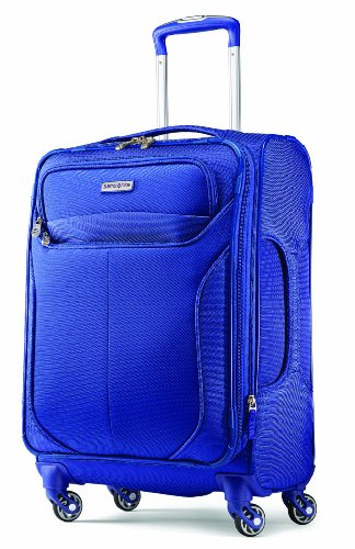 Samsonite Liftwo Spinner 21 Luggage, Blue, One Size