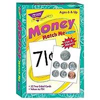 TRENDの会社のT-58003 MATCH ME CARDS MONEY-52両面カード/ BOX 6歳&アップ