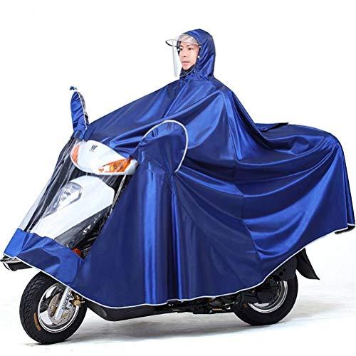 LULUDP Chubasqueros Impermeable eléctrico de la bici, paño de Oxford Portátil A...