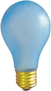 Bulbrite 60A19PG 60-Watt Incandescent Plant Grow A19, Medium Base, Blue