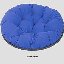 Furniture Overstuffed Papasan Chair Cushion,Tufted Swing Rattan Chair Cushion,Round Cushion Thick Comfortable Oversized Pa...