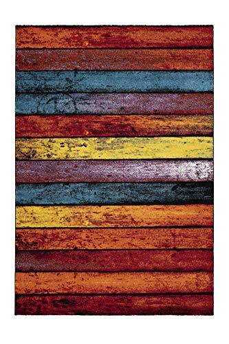 Lalee - Tappeto dal design moderno, 100% polipropilene., Multicolore, 120 x 170 cm