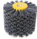 Abrasivos cepillos Circulares de Alambre Drum Pulido Pulido Ruedas para los Muebles de Madera bel Pulido Pulido, Hilo de Nylon abrasivo Dibujo de Tambor con cepillos de Pulido