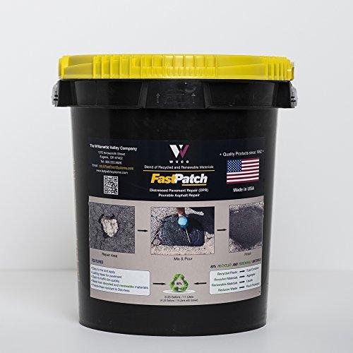 FASTPATCH DPR Pourable Asphalt Repair 5-Gal Kit - Polymeric Asphalt Patch