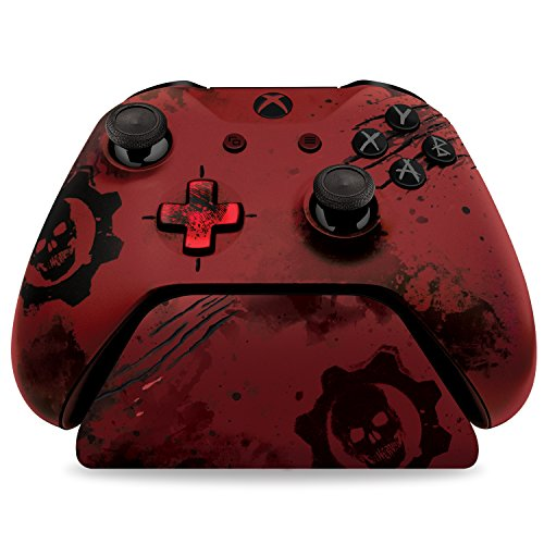 "Controller Gear Officially Licensed Gears of War 4 Crimson Omen - Limited Edition Controller Stand v2.0 - Red. ""Controller not included"""