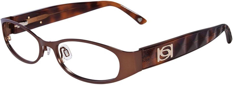 BEBE Eyeglasses BB5037 003 Smoked Topaz 51MM