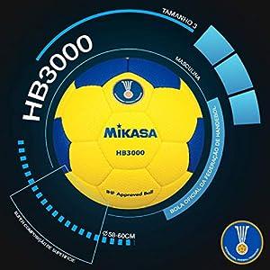 Bola Oficial de Handebol HB3000 Mikasa