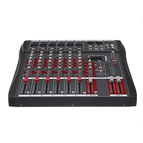 Sbeautli BT estéreo Profesional USB Mezclador de Audio de Sonido...