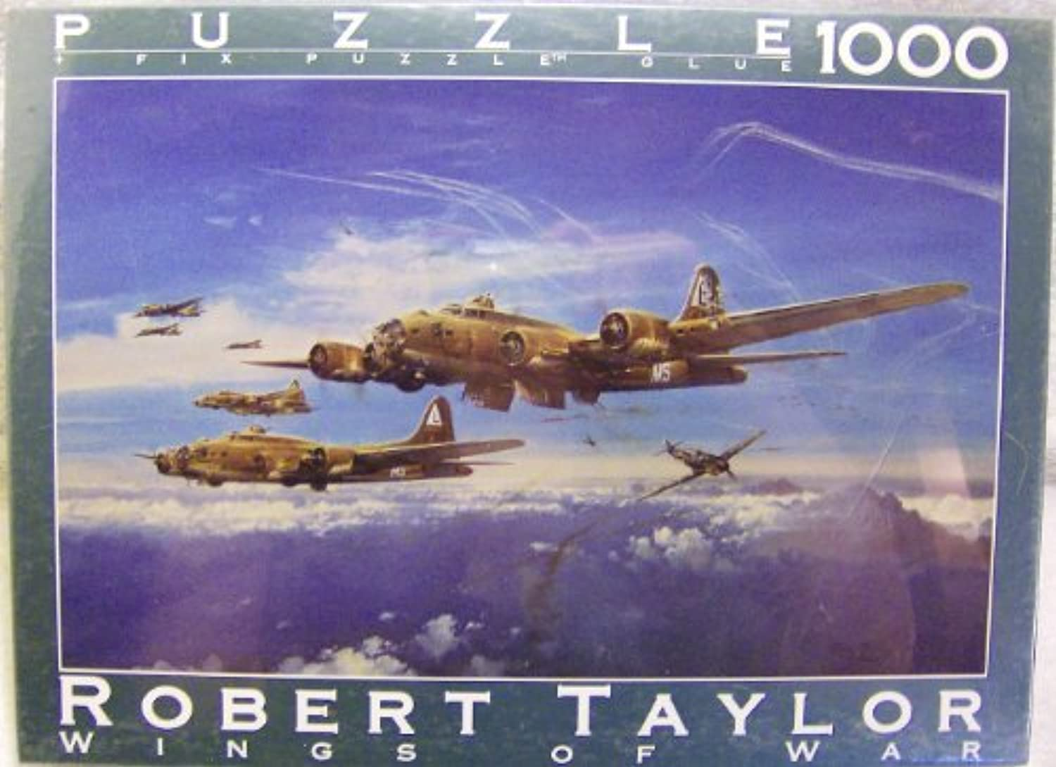 Fink & Company Wings of War Series Robert Taylor Return From Schweinfurt 1000 Piece Puzzle by Fink & Company Wings of War