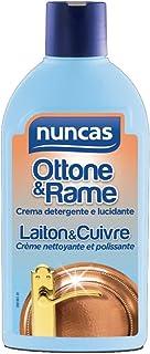 Nuncas Latón & Cobre – Crema limpiadora y abrilla