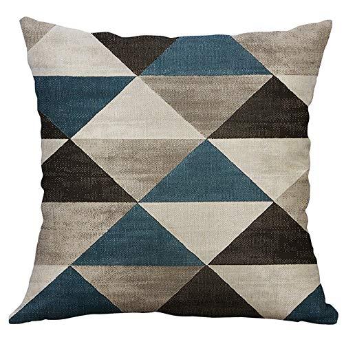 FeiliandaJJ Kissenbezug 40X40cm Irregulär Geometrisch Muster Kissenhülle Kopfkissenbezug Home Dekoration Pillowcase Super Weich Sofakissen für Wohnzimmer Sofa Bed (C)