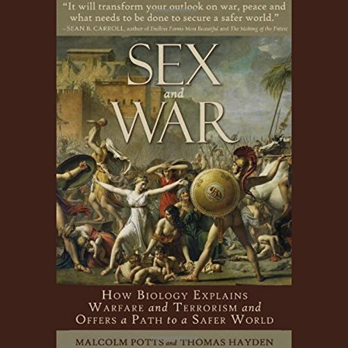 Sex and War audiobook cover art