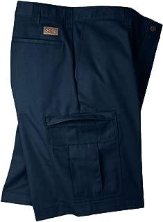 Dickies Men's Premium Industrial Cargo Short, Navy Blue, 32