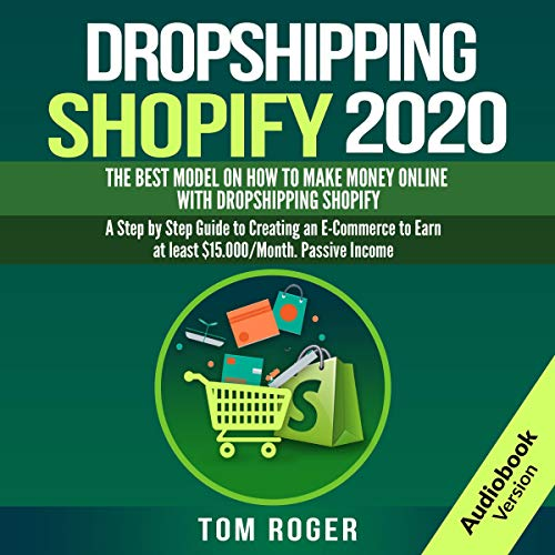 Dropshipping Shopify 2020 cover art