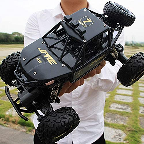 Moerc 1/16 4WD Impermeable Off-Road Truck 2.4 GHz Control de Radio RC Trucks out Coches Off-Road Independent Suspension Neumático de Goma All Terrain RC Coche Dune Buggy Hobby Juguetes para niños