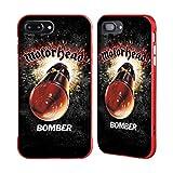 Head Case Designs Ufficiale Motorhead Bomber Arte Chiave Cover Fender Rossa Compatibile con Apple iPhone 7 Plus/iPhone 8 Plus