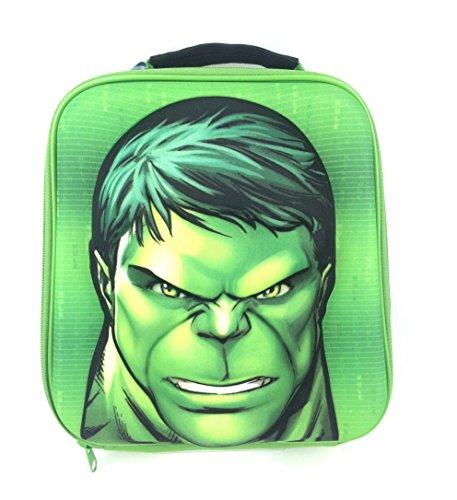 Official New Marvel Avengers Hulk EVA 3D Boys Nursery School Lunch Insulated Bag