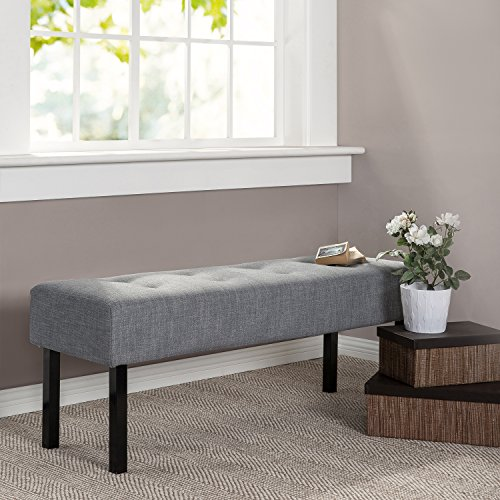 Zinus Memory Foam / Tufted  / Hallway / Entryway / Bed / Upholstered Bench