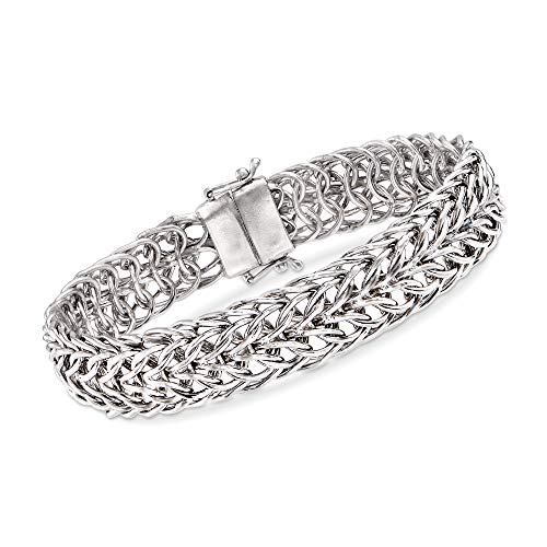 Ross-Simons Sedusa-Link Bracelet in Sterling Silver With Magnetic Clasp