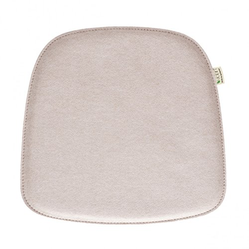 Violan Sitzkissen Pebble kompatibel mit Eames Armchair