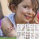 color tattoo set viso tatuaggio temporaneo bambino tatuaggio sticker body tatoo per bambini tatuaggio carino bambini tatuaggi 10pcs