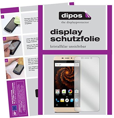 dipos I 2X Schutzfolie klar kompatibel mit Allview X4 Soul Mini Folie Bildschirmschutzfolie