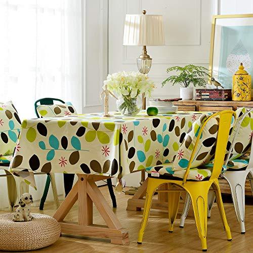 Home\'s Polyesterfaser Tischdecke Neue Tischdecke Pflanze Baumwolle Tee Tischdecke Hause Wohnzimmer Tischdecke Geeignet Für Den Innenhof110X170CM