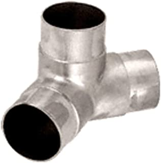 C.R. LAURENCE HR15PPS CRL Polished Stainless 135 Degree Side Outlet Elbow for 1-1/2