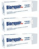 Biorepair Pro White Daily Toothpaste - 2.54 Fluid Ounces (75ml) Tubes (Pack of 3) [ Italian Import ]
