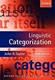 Linguistic Categorization (Oxford Textbooks in Linguistics)