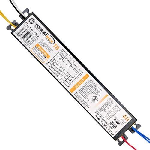 GE Popular shop is the lowest price challenge UltraMax H 71723 - 4 unisex F32T8 120 Lamp Ballast Fluorescent