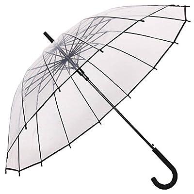 Paraguas Transparente Paraguas Mango
