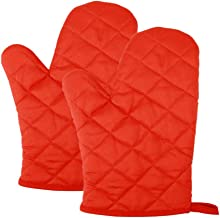 Baking Gloves Oven Glove Anti-scalding Gloves Heat Resistant Barbecue Gloves Kitchen Baking Oven Special Gloves (Size : L2...
