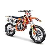 Maisto 532228 KTM 450 SX-F Factory Edition 2018 Modellmotorrad, orange