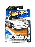 Mattel 2011 Hot Wheels HW Main Street Pontiac Firebird White on 2 Car Bands Included Card #163/244 by
