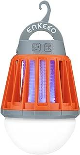 ENKEEO 2-in-1 Camping Lantern Bug Zapper Tent Light -...